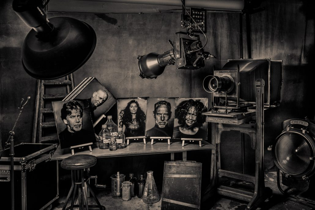 Wet plate collodion portraits with the ultra-large format camera